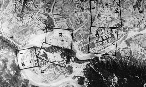 Hình ảnh vệ tinh chụp tổ hợp hạt nhân Yongbyon của Triều Tiên vào năm 1994. Ảnh:pri.org