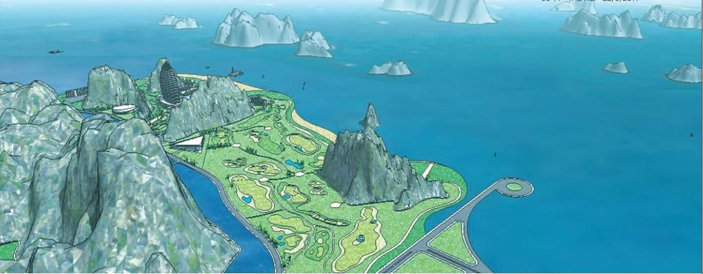 Dự án quần thể sân golf, khách sạn 5 sao, khu nghỉ dưỡng cao cấp tại khu vực Ao Tiên, xã Hạ Long