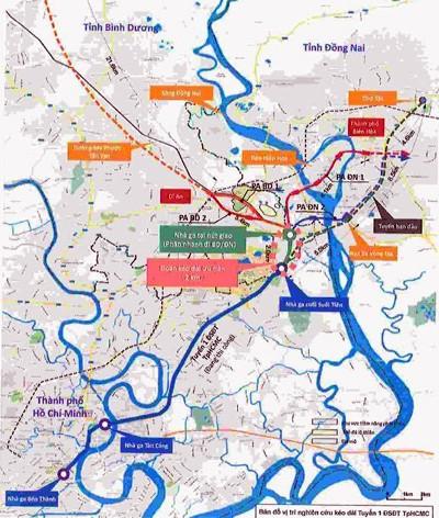 2.100 tỷ kéo dài tuyến metro của TP HCM đến Bình Dương, Đồng Nai - ảnh 1