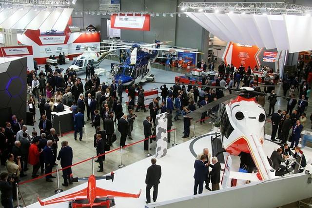 Triển lãm là trưng bày và giới thiệu những thiết kế trực thăng quân sự và dân sự mới của Nga cũng như thế giới. Đây là lần thú 10 triển lãm trực thăng HeliRussia được tổ chức ở Nga.