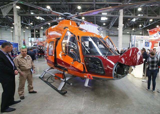 Một trực thăng Ansat khác
