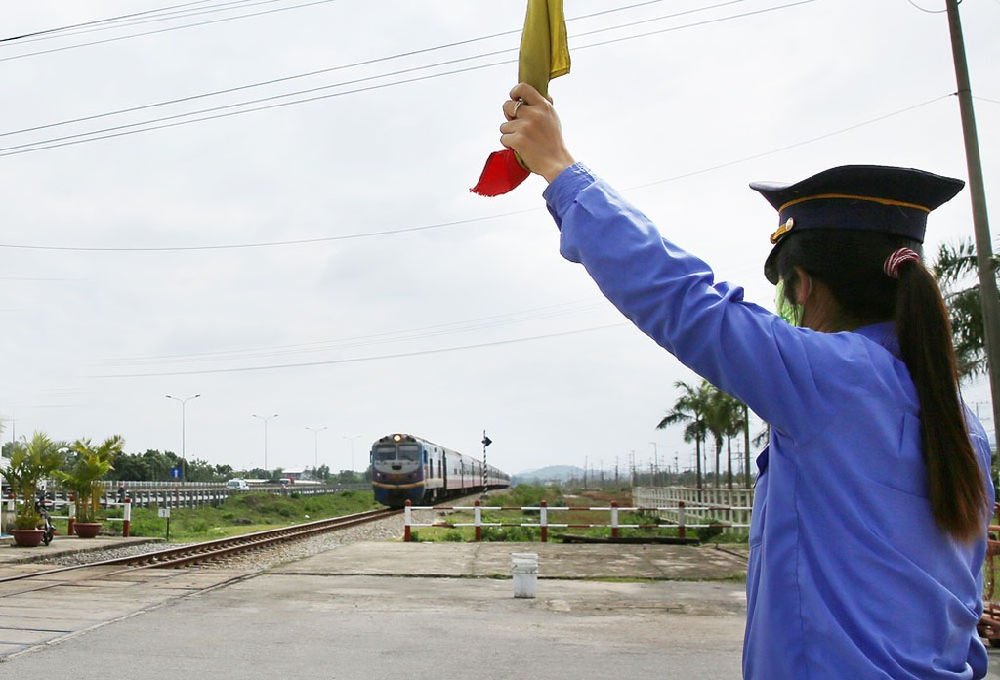Các hạng mục bãi hàng, nhà kho, đường nhánh trên tuyến đường sắt Hà Nội - Vinh sẽ được đầu tư xây dựng theo phương thức xã hội hóa. Ảnh: Lê Tiên
