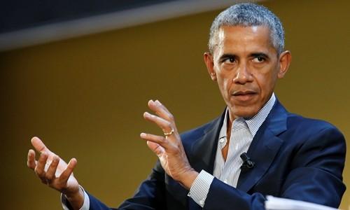 Cựu tổng thống Mỹ Barack Obama. Ảnh:Reuters.