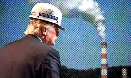Ông Trump cho rằng hiệp định này không có lợi cho Mỹ. Ảnh:AFP, CNN