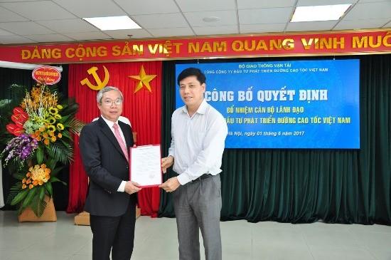 Bổ nhiệm Chủ tịch HĐTV, Tổng giám đốc Tổng công ty VEC