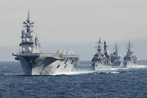 Đội tàu chiến mạnh bậc nhất châu Á của hải quân Nhật Bản - ảnh 1