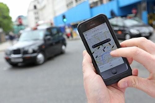 Uber được nhiều khách hàng ưa chuộng. Ảnh:Bloomberg