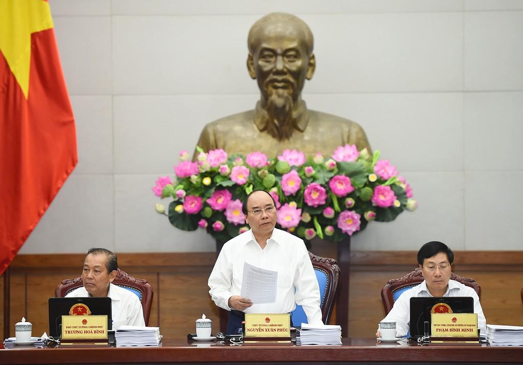 Thủ tướng: Không ngồi nhà chờ báo cáo - ảnh 2