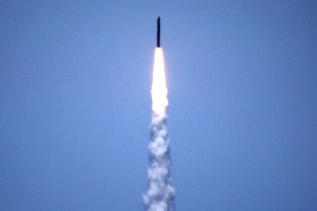 Ngày 30/5, Mỹ đã thử nghiệm thành công hệ thống đánh chặn tên lửa liên lục địa. (Ảnh: Reuters)