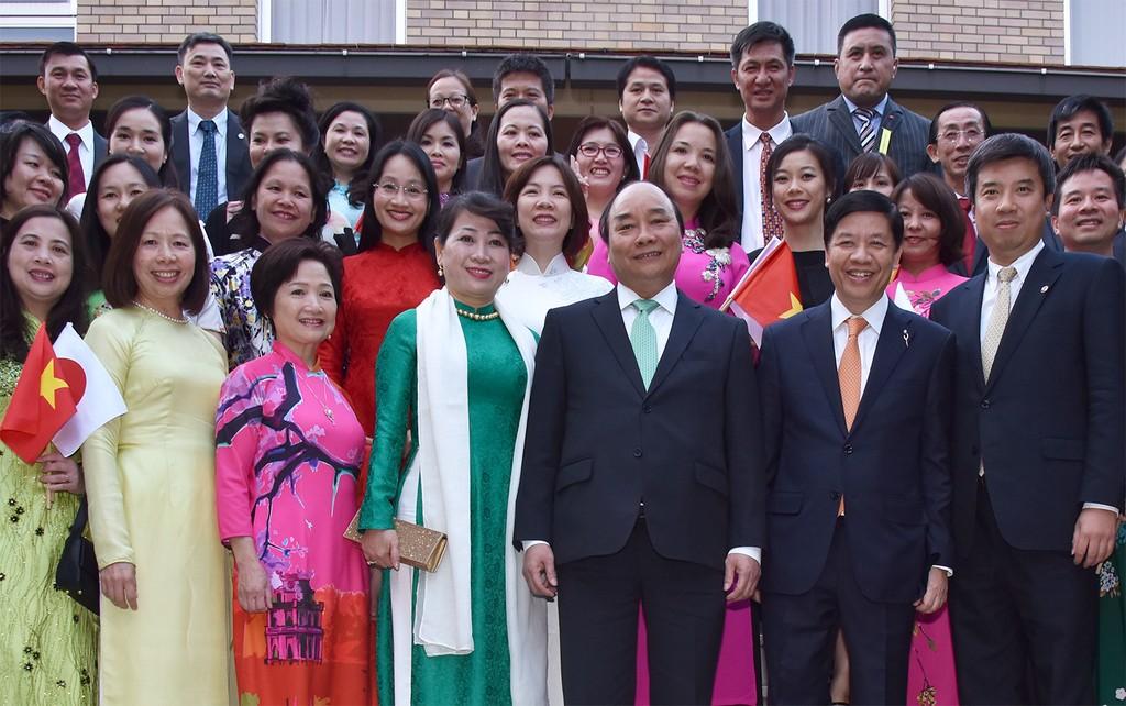 Thủ tướng mong muốn bà con học hỏi tinh thần Nhật Bản - ảnh 4