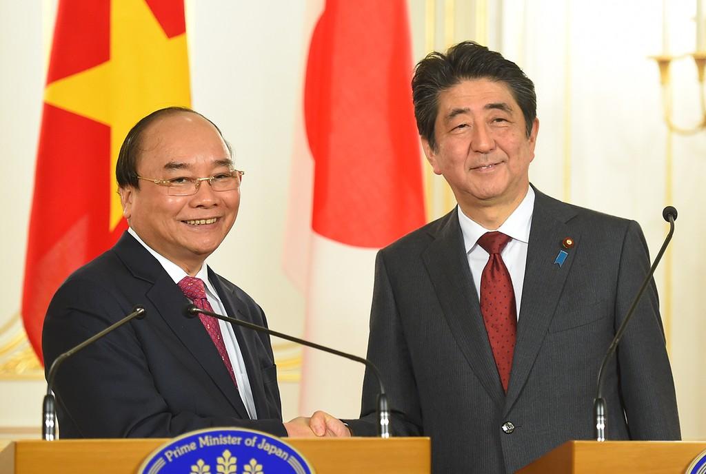 Hai Thủ tướng Việt Nam, Nhật Bản hội đàm - ảnh 4
