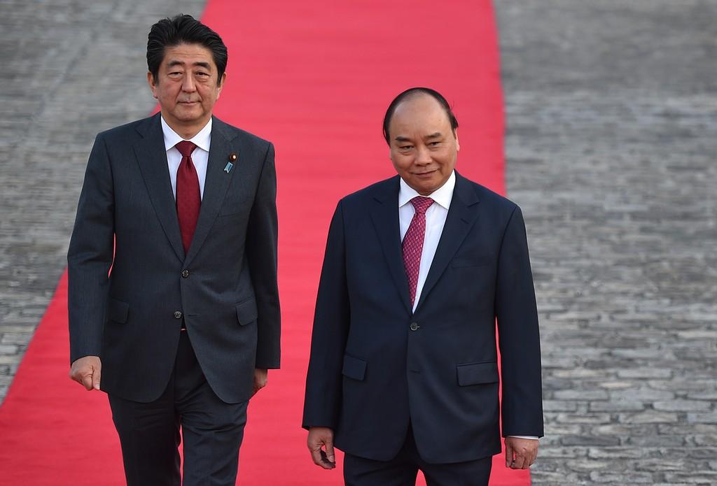 Hình ảnh lễ đón chính thức Thủ tướng Nguyễn Xuân Phúc tại Nhật Bản - ảnh 3