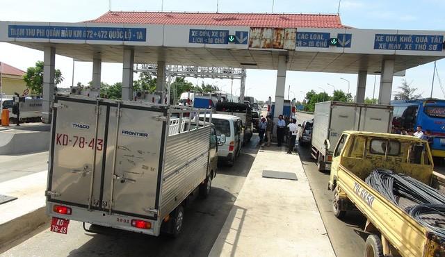 Trạm thu phí Quán Hàu, Quảng Bình