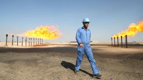 Giá dầu thế giới giảm khoảng 1%. Ảnh minh họa: Financial Times