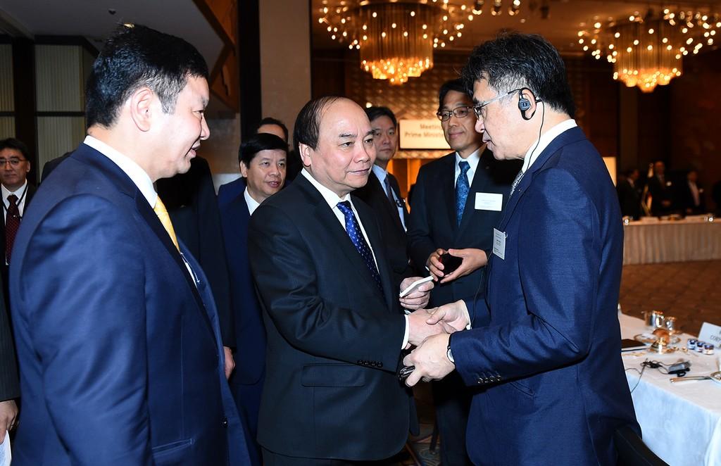 Thủ tướng tọa đàm với các doanh nghiệp CNTT Nhật Bản - ảnh 4