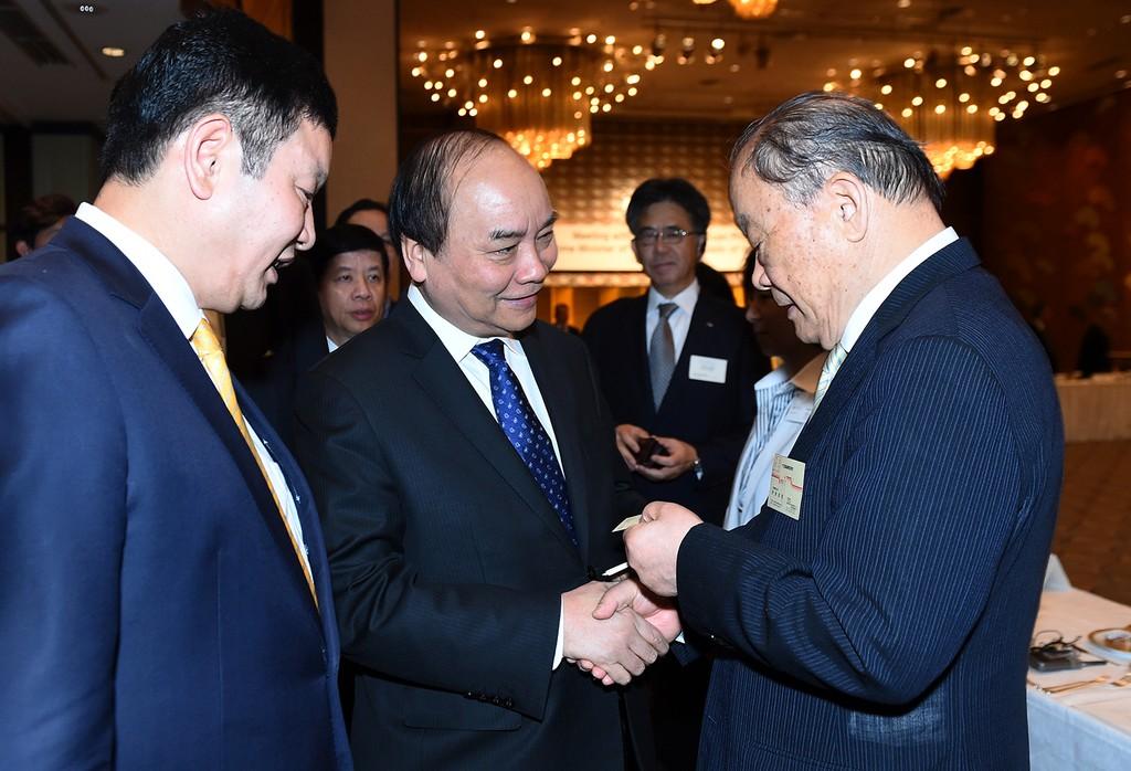 Thủ tướng tọa đàm với các doanh nghiệp CNTT Nhật Bản - ảnh 5