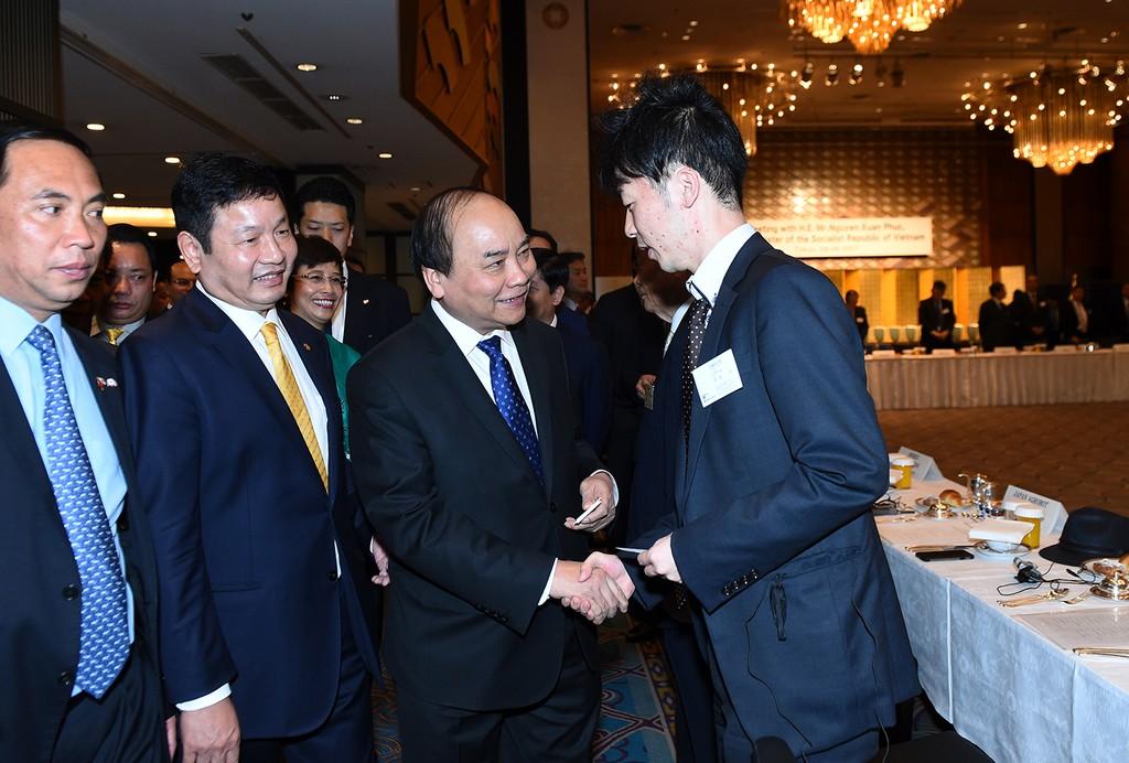 Thủ tướng tọa đàm với các doanh nghiệp CNTT Nhật Bản - ảnh 6
