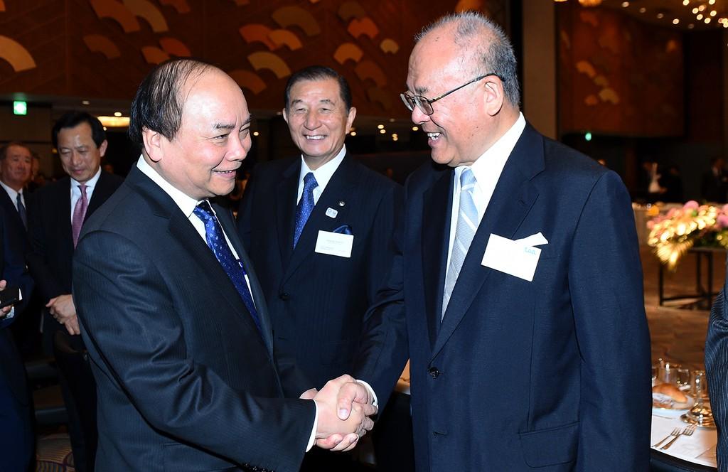 Thủ tướng tọa đàm với các doanh nghiệp CNTT Nhật Bản - ảnh 7