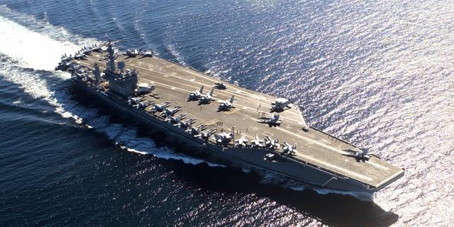 Tàu sân bay USS Nimitz của Mỹ (Ảnh: Hải quân Mỹ)