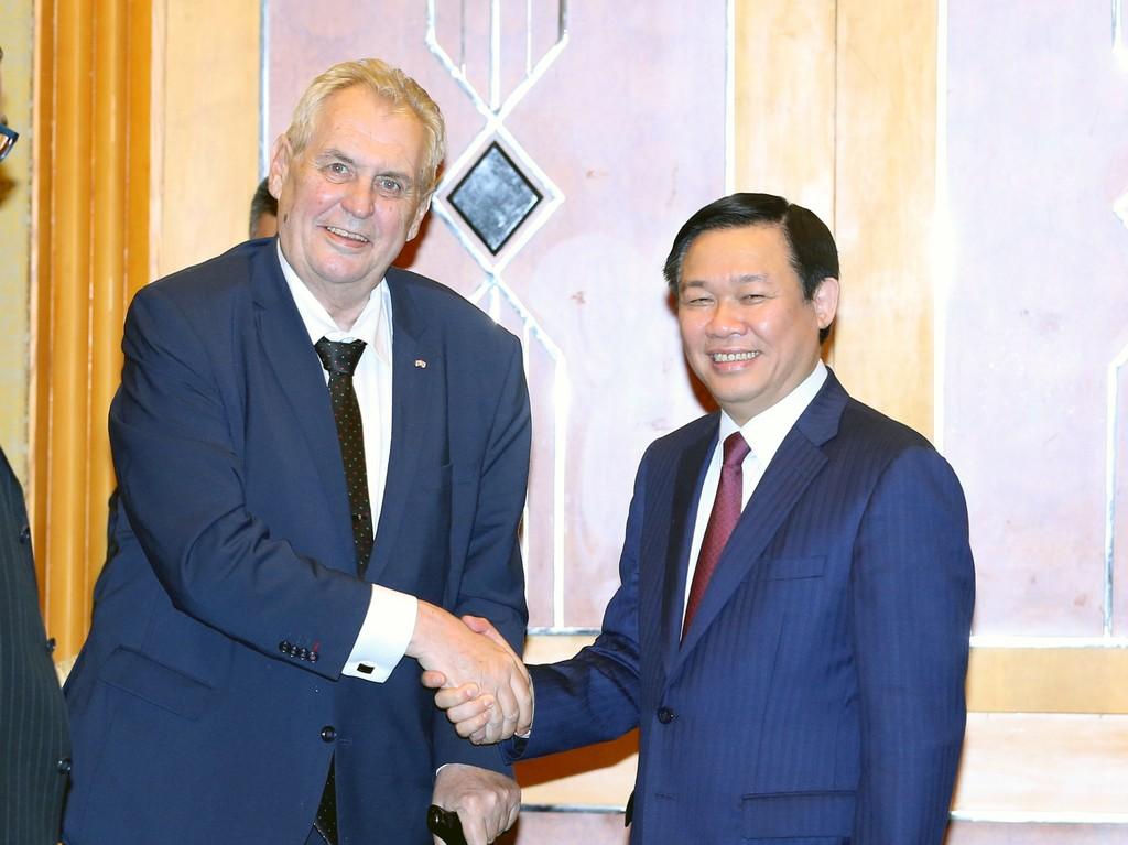 Thúc đẩy hợp tác đầu tư, thương mại Việt Nam-Czech - ảnh 1