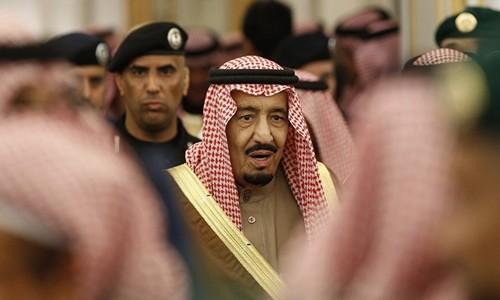Vua Arab Saudi Salman bin Abdulaziz al-Saud. Ảnh:AFP