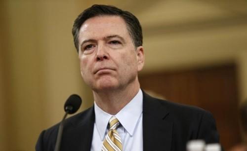Cựu giám đốc FBI James Comey. Ảnh:Reuters.