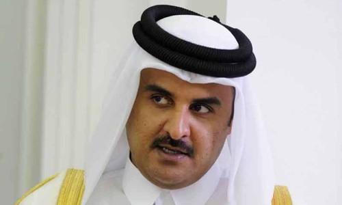 Vua QatarTamim bin Hamad Al Thani. Ảnh:Reuters