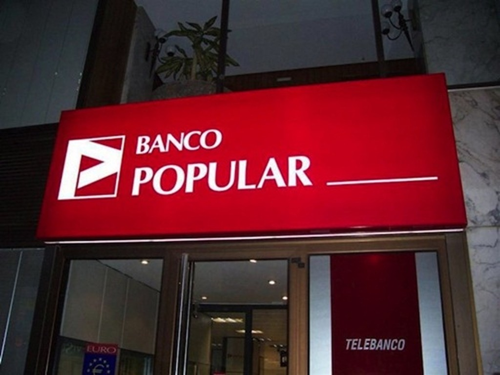 Banco Popular có hàng tỷ USD nợ xấu bất động sản. Ảnh:MWN