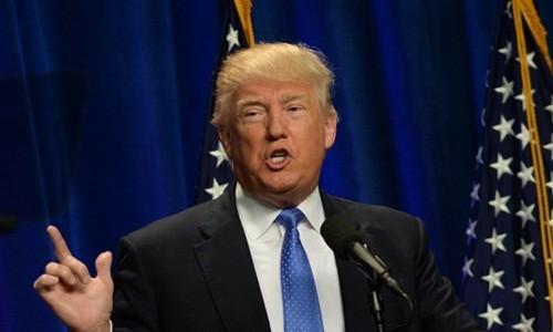 Tổng thống Mỹ Donald Trump. Ảnh:Time
