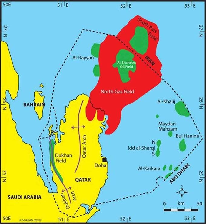 Qatar giàu lên nhanh chóng như thế nào - ảnh 5