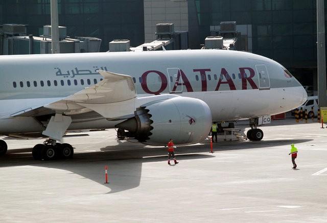 Các hãng hàng không của Qatar đã phải đổi hướng bay sau khi hàng loạt quốc gia vùng Vịnh đóng cửa không phận với các chuyến bay đi và đến Qatar (Ảnh minh họa: Reuters)