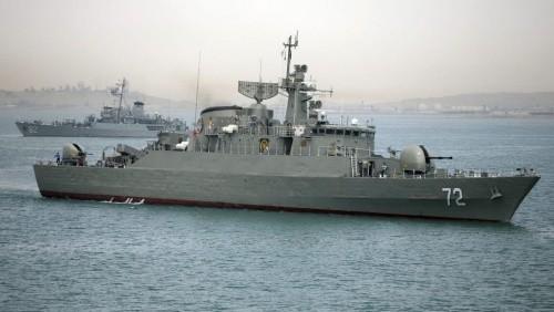 Tàu khu trục Alborz của Iran. Ảnh: TimesofIsrael