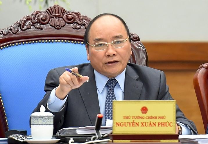 Thủ tướng Nguyễn Xuân Phúc từng nhiều lần nhấn mạnh, phải lấy lợi ích quốc gia và phục vụ nhân dân làm mục tiêu cao nhất. - Ảnh: VGP/Quang Hiếu
