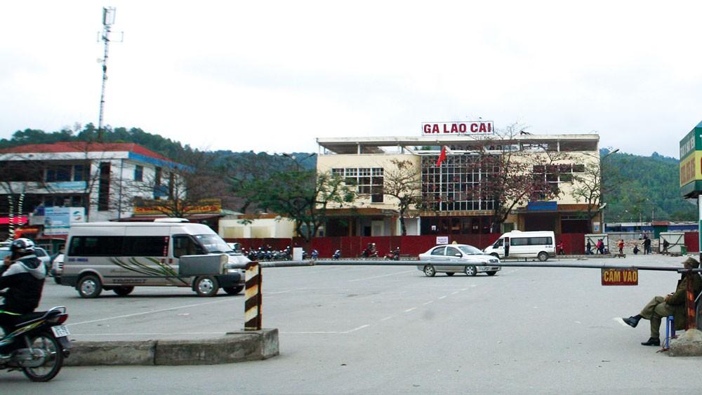 Dự án Cải tạo hạ tầng đô thị tại Lào Cai và Phủ Lý là dự án thành phần của Dự án Phát triển các đô thị loại vừa. Ảnh: Lê Tiên