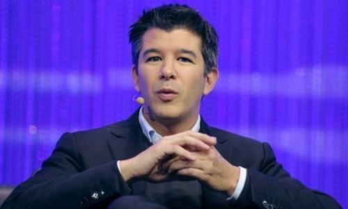 CEO kiêm đồng sáng lập Uber - Travis Kalanick sẽ rời công ty một thời gian. Ảnh:AFP