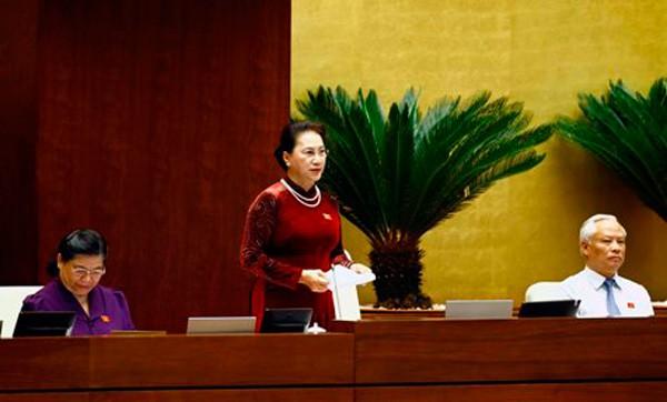 Toàn cảnh Bộ trưởng Bộ NN&PTNT Nguyễn Xuân Cường trả lời chất vấn - ảnh 1