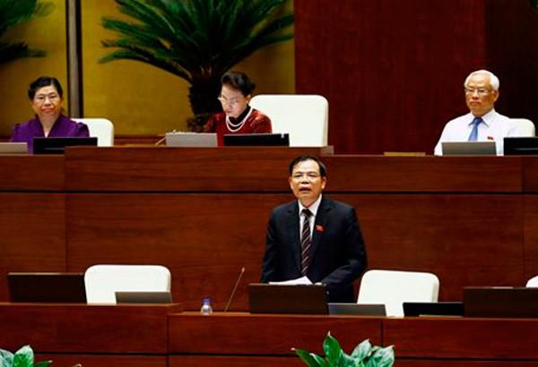 Toàn cảnh Bộ trưởng Bộ NN&PTNT Nguyễn Xuân Cường trả lời chất vấn - ảnh 3