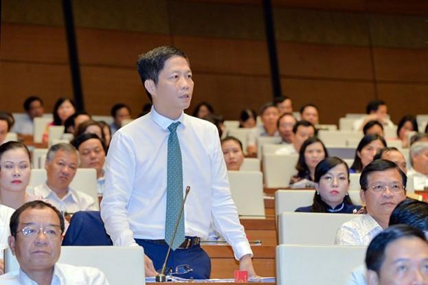 Toàn cảnh Bộ trưởng Bộ NN&PTNT Nguyễn Xuân Cường trả lời chất vấn - ảnh 5