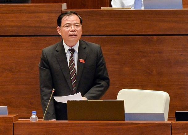 Toàn cảnh Bộ trưởng Bộ NN&PTNT Nguyễn Xuân Cường trả lời chất vấn - ảnh 6