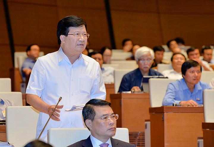 Toàn cảnh Bộ trưởng Bộ NN&PTNT Nguyễn Xuân Cường trả lời chất vấn - ảnh 8