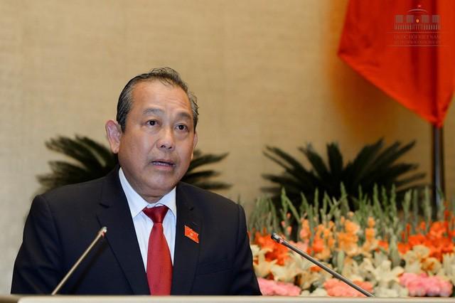 Toàn cảnh Bộ trưởng Bộ NN&PTNT Nguyễn Xuân Cường trả lời chất vấn - ảnh 12
