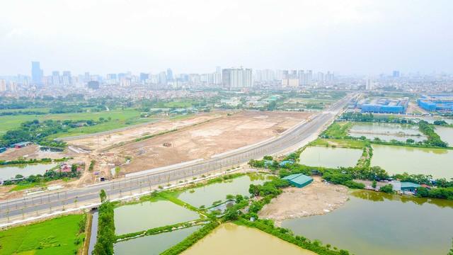 Toàn cảnh tuyến đường nghìn tỷ đang gấp rút hoàn thành tại Hà Nội - ảnh 9