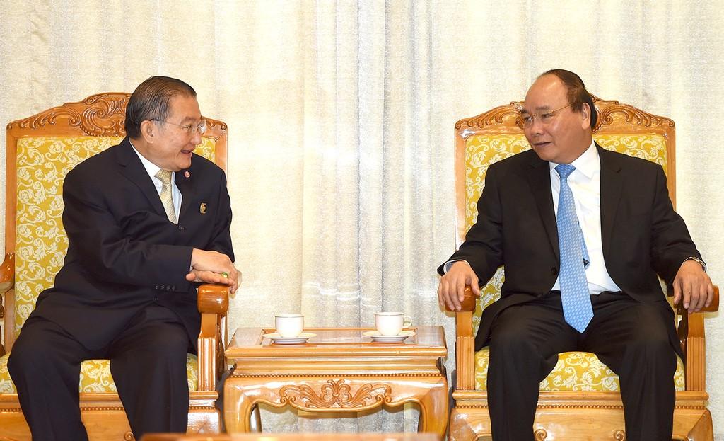 Thủ tướng tiếp Chủ tịch Tập đoàn bán lẻ hàng đầu Thái Lan - ảnh 1
