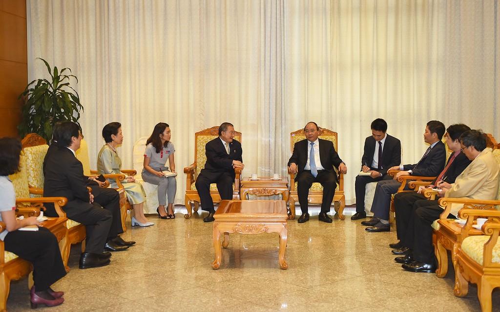 Thủ tướng tiếp Chủ tịch Tập đoàn bán lẻ hàng đầu Thái Lan - ảnh 2