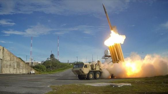 Hệ thống phòng thủ tên lửa tầm cao giai đoạn cuối (THAAD). (Ảnh: Nationalinterest)