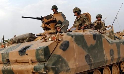 Binh lính Thổ Nhĩ Kỳ tới Qatar tập trận. Ảnh minh họa:Gulf News