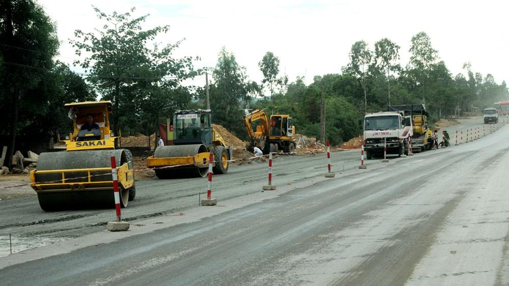 Thanh tra Chính phủ đã phát hiện nhiều sai phạm trong quá trình thực hiện Dự án BOT Cải tạo, nâng cấp Quốc lộ 1A, đoạn An Sương - An Lạc. Ảnh: Đình Tùng