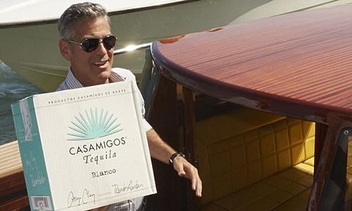 George Clooney thành lập hãng rượu Casamigos từ năm 2013. Ảnh:Dailymail