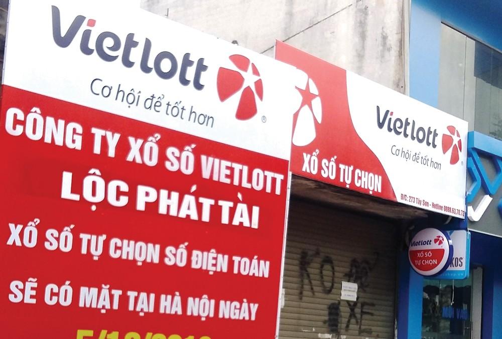 Năm 2016, doanh thu chưa thuế của Vietlott đạt hơn 1.222 tỷ đồng, lợi nhuận gộp gần 116 tỷ đồng. Ảnh: Hải Anh