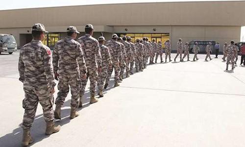 Binh lính Thổ Nhĩ Kỳ đến Qatar trong kế hoạch mới. Ảnh minh hoạ:Gulf Times.